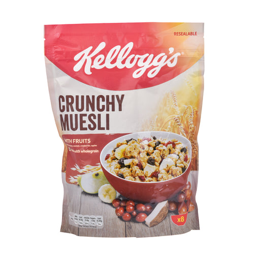 Kelloggs Crunchy Muesli With Fruits 380Grm