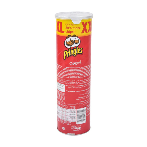Pringles Potato Chips Original Xxl 200Grm