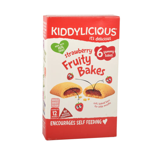 Kiddylicious Strawberry Fruity Bakes 132g