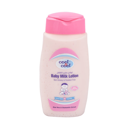 Cool&Cool Baby Milk Lotion Smooth&Moist 250Ml