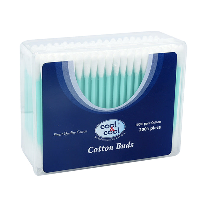 Cool&Cool Cotton Buds Asstd Colours 200'S
