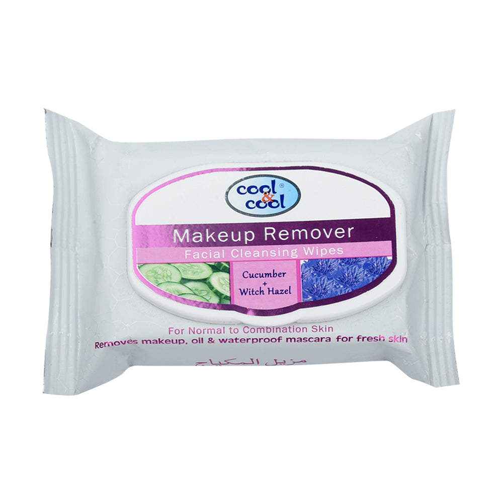 Cool&Coo Make-Up Remover Asstd Wipes 25''S