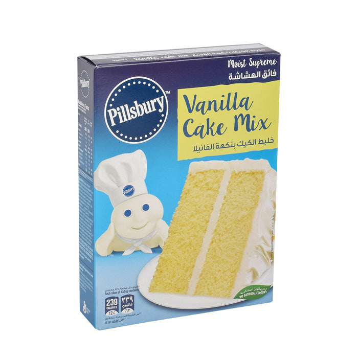 Pilsbury Golden Vanila Cake Mix 485g