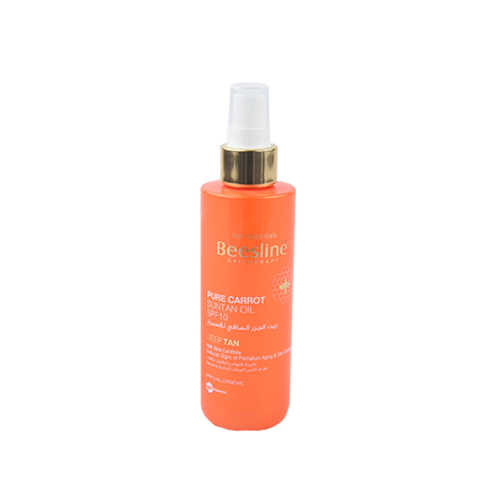 Beesline Pure Carrot Suntan Oil Spf10 200Ml
