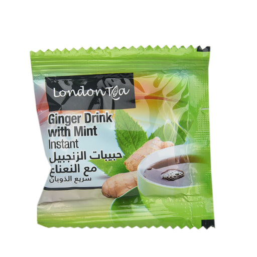LONDON Ginger Drink With Mint Tea 25''S