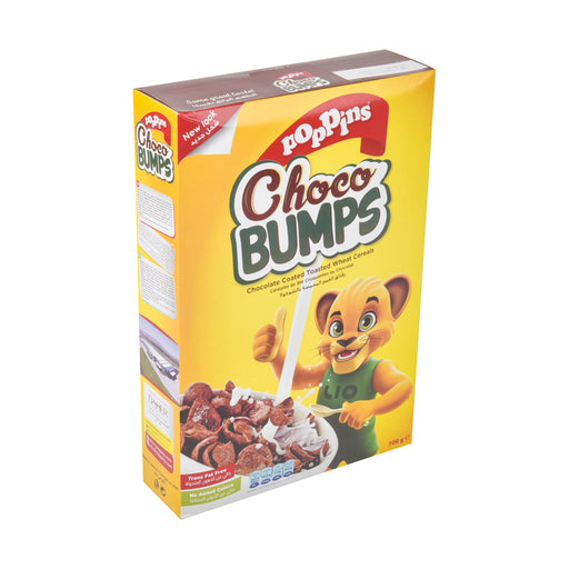 Poppins Breakfast Cereal Chocolate Bumps 500Grm