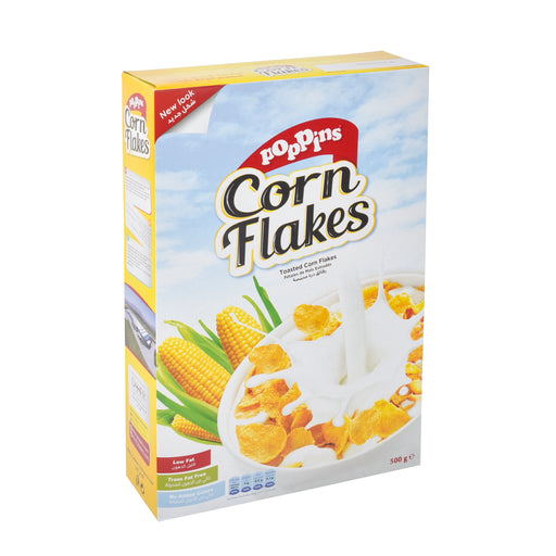 Poppins Corn Flakes Cereals 500Grm