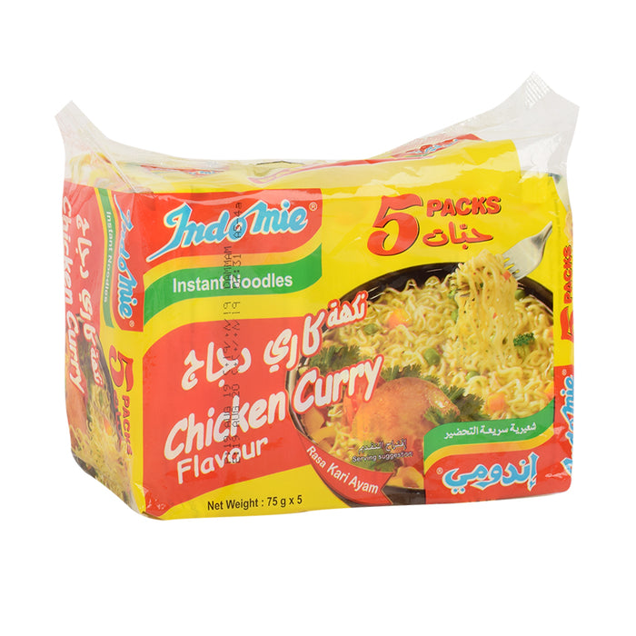 Indomie Noodle Chicken Curry 5x75gm