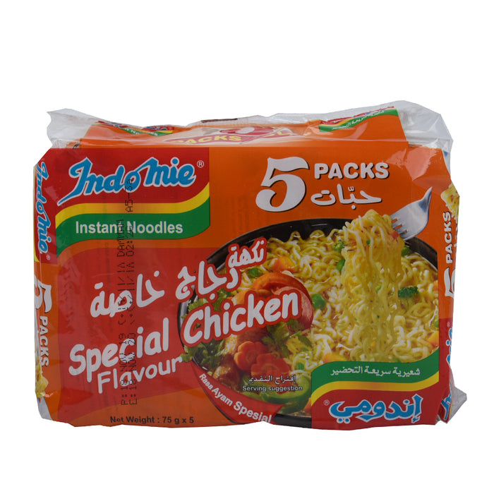 Indomie Noodle Special Chicken 5x75gm