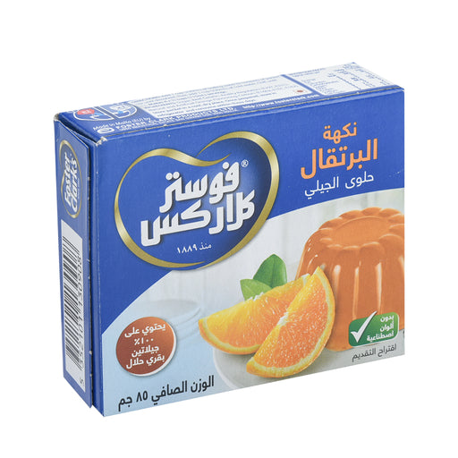 Foster Clark Orange Gelatin Jelly 85gm