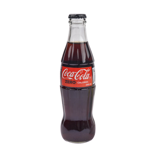 Coca Cola Zero Calories Carbonated Soft Drink 290 Ml