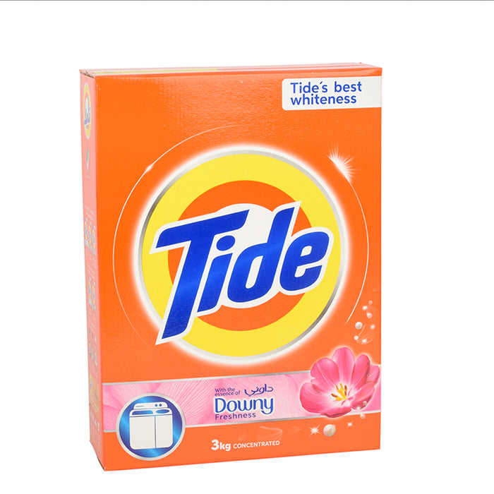 Tide Washing Power Power Plus With Downy Top Load 3Kg