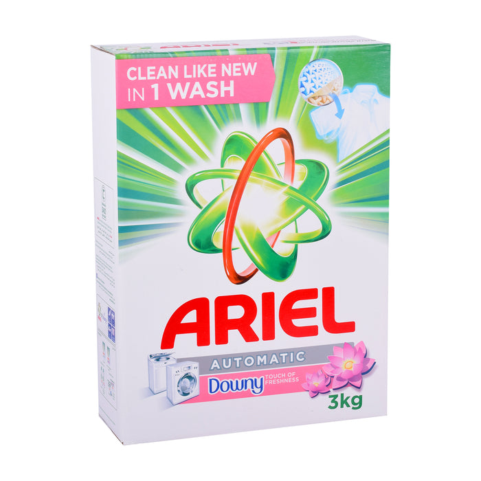 Ariel  Washing Powder With Downy Auto 3Kg
