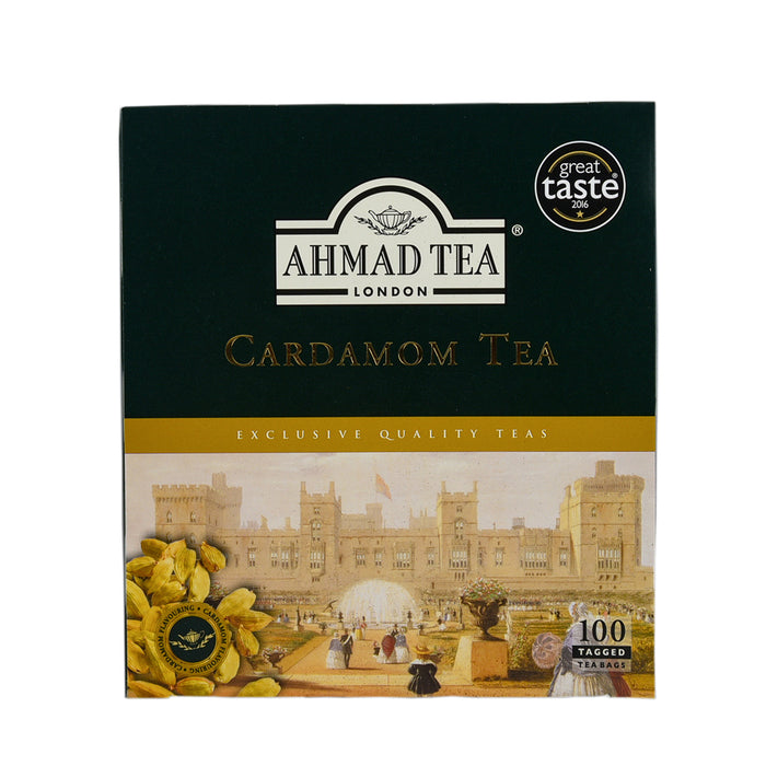 Ahmad Tea Cardamon Tea Bags100 Pieces
