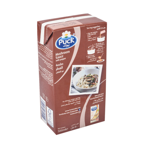 Puck Mushroom Sauce Cream With Pepper 500ml