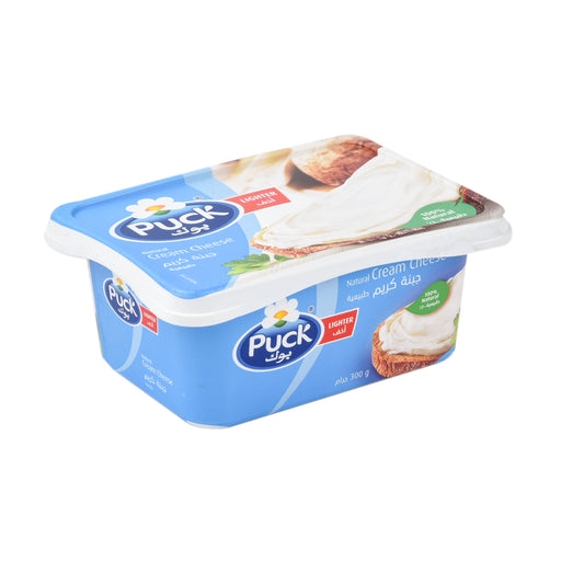 Puck Cream Cheese Natural Lighter 300gm