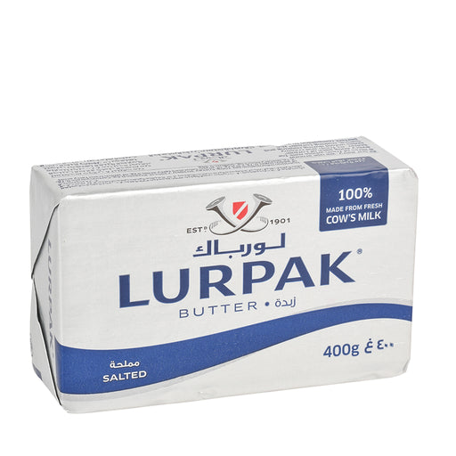 Lurpak Butter Salted 400gm