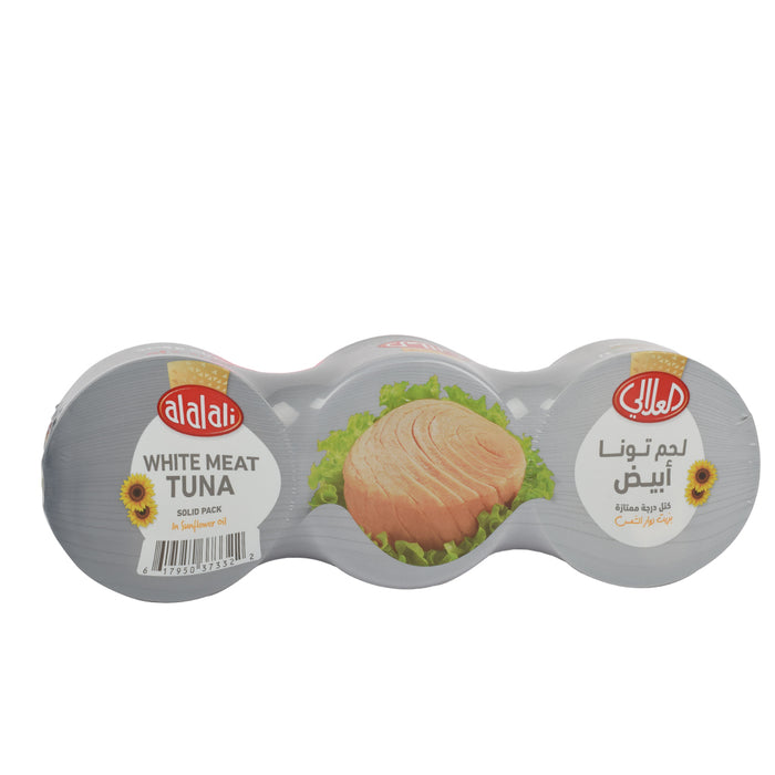 Al Alali White Meat Tuna Sunflower Oil 3x170grm