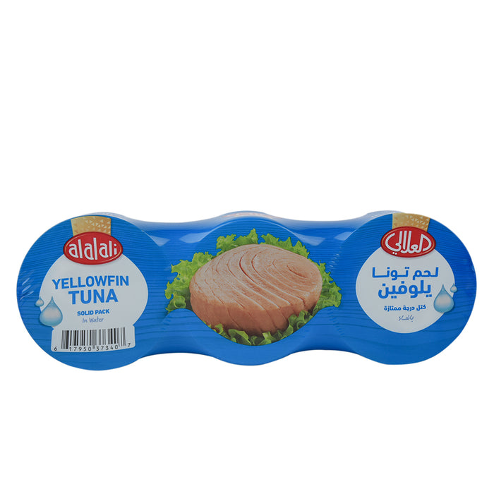 Al Alali Yellowfin Tuna In Water 3x170grm