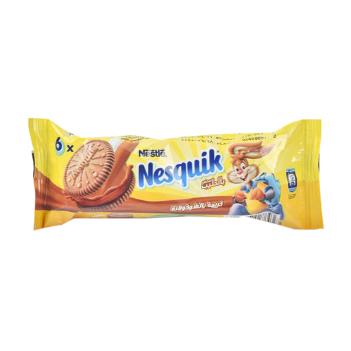 Nestle Nesquick Sandwich Chocolate Cream Biscuit 56Grm