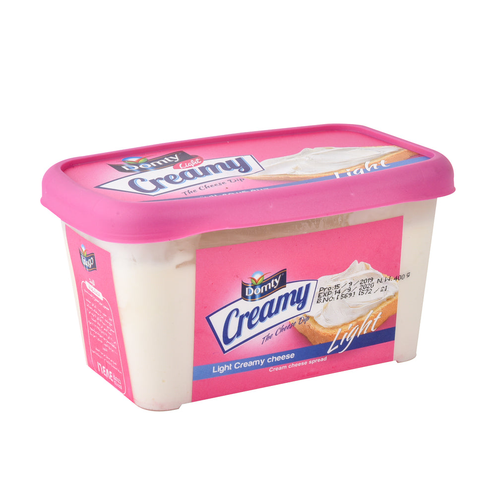 Domty Creamy Cheese Light 400gm