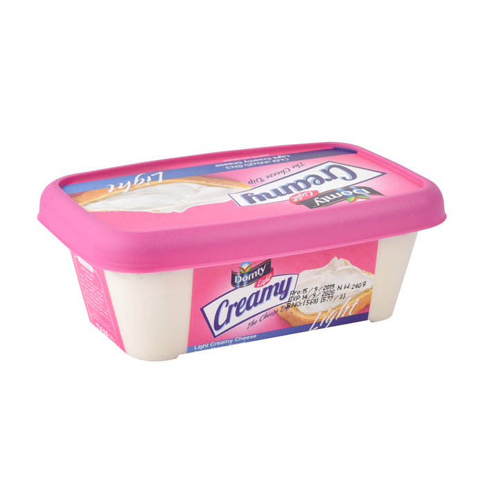 Domty Creamy Cheese Light 240gm