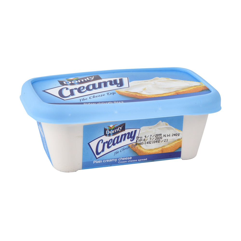 Domty Creamy Cheese Plain 240gm