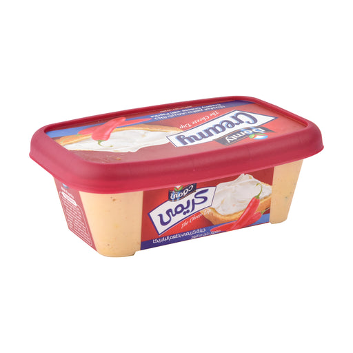 Domty Creamy Cheese With Paprika 240gm