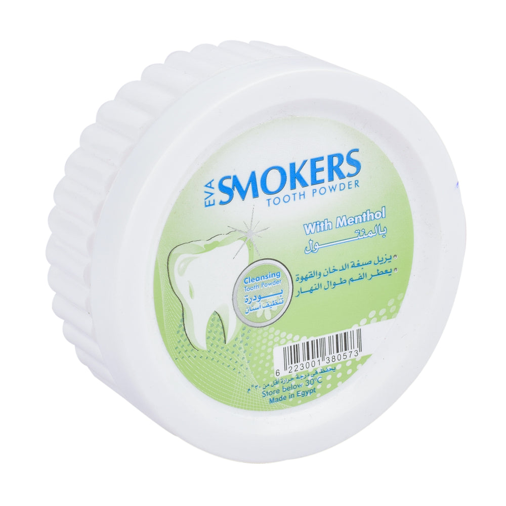 Eva Smokers Tooth Powder Menthol 40Gm