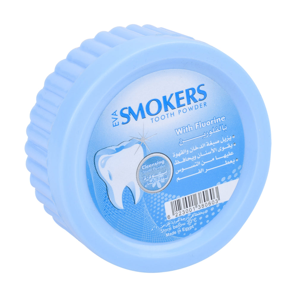 Eva Smokers Tooth Powder Fluorine 40Gm