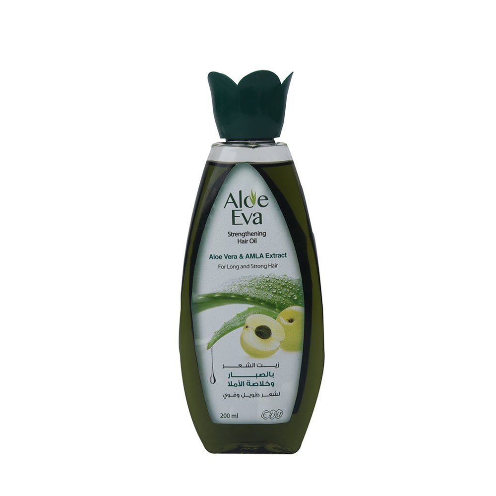 Aloe Eva Hair Oil Aloe Vera&Amla Extra 200Ml