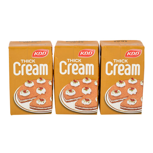 Kdd Thick Cream Plain 250ml