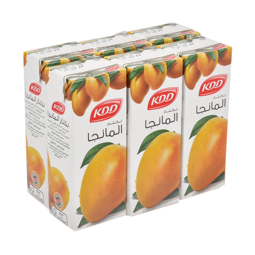 Kdd Uht Mango Nectar Juice 180Ml X 6 Pieces