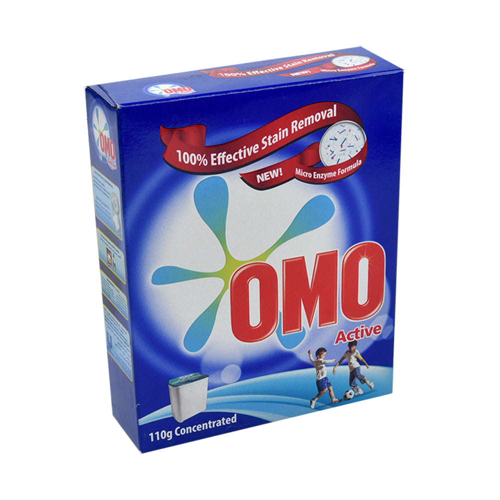 Omo Washing Powder  Active Stain Removal  110Gm