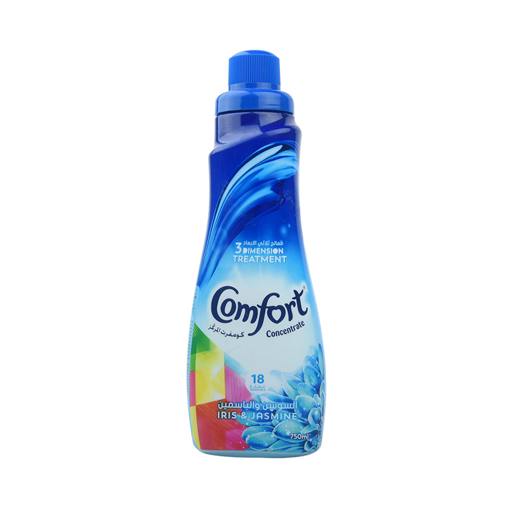 Comfort Fabric Softner Fresh Iris&Jasmine 750Ml