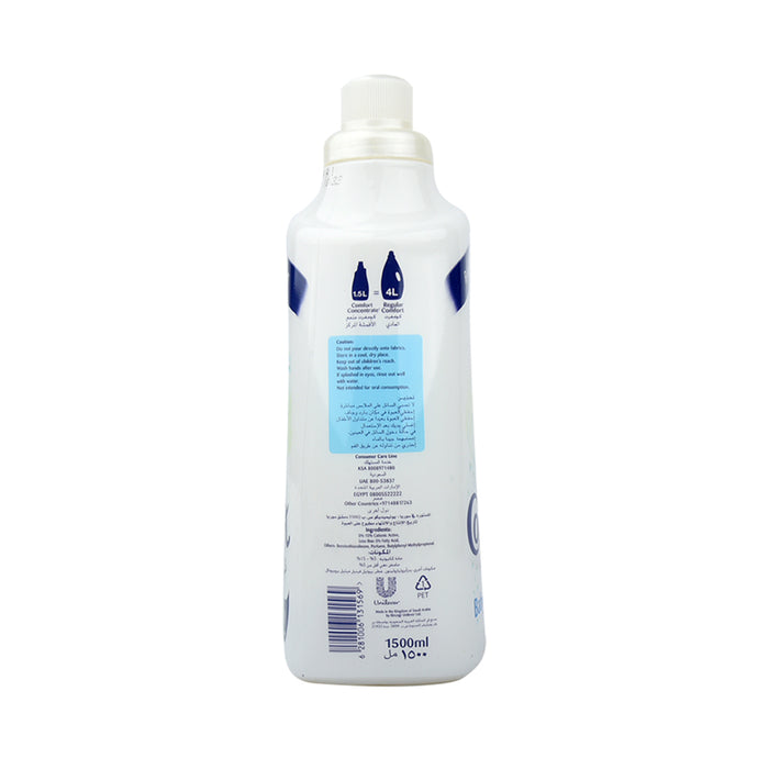 Comfort  Fabric Softner  Concentd For Baby 1.5Ltr