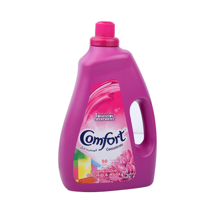 Comfort  Fabric Softner Concentr Orchid&Musk 2Lt