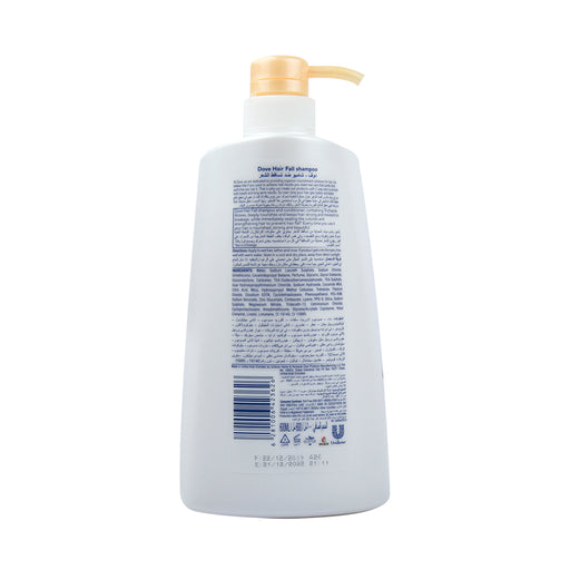 Dove Shampoo  Nutritive Solution Hair Fall 600Ml