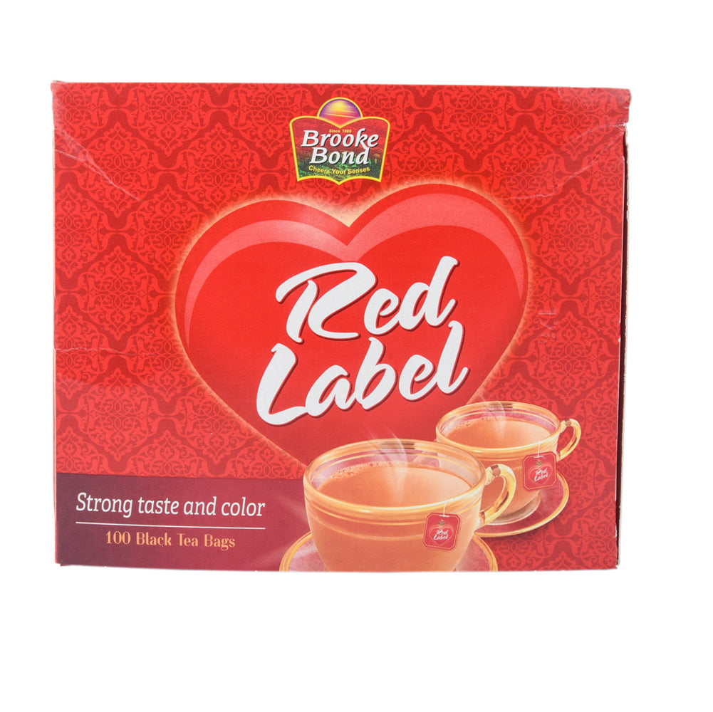 Brooke Bond Red Lable Black Tea Bags 100 Tea Bags