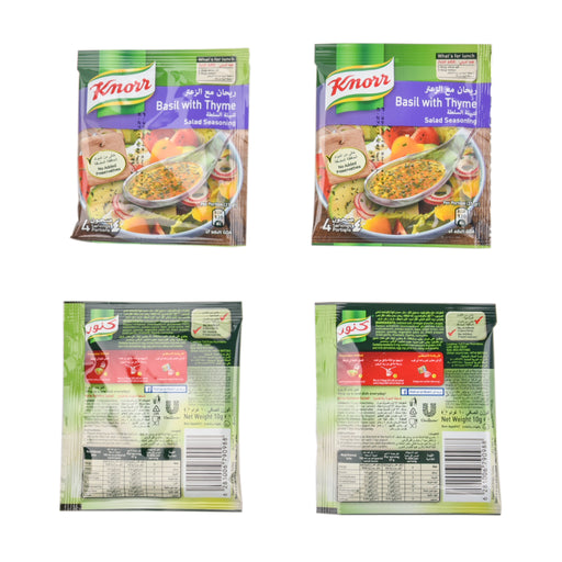 Knorr Salad Seasoning Basil With Thyme 4x10g