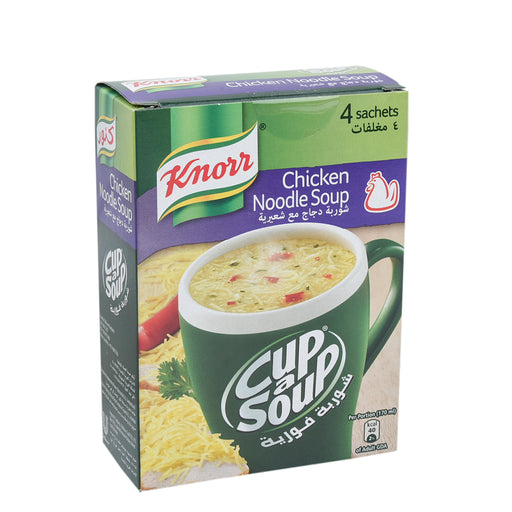 Knorr Cup A Soup Chicken Noodle 4's
