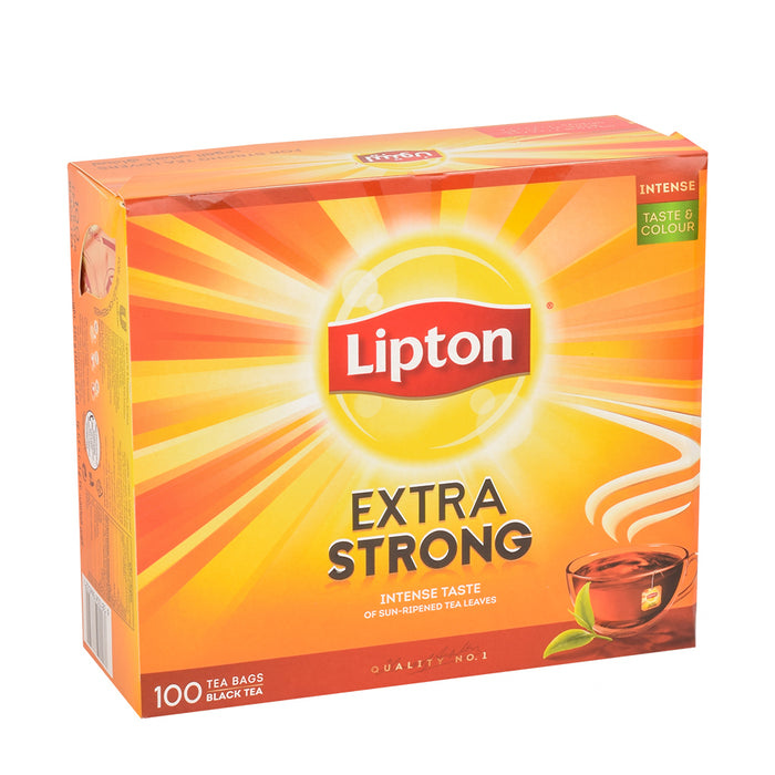 Lipton Extra Strong Tea Bags 100 Bags