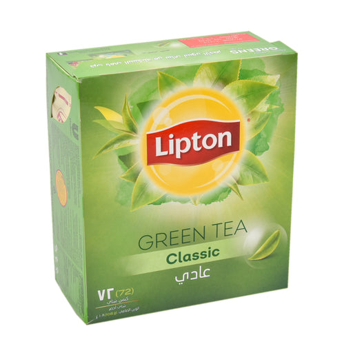 Lipton Clear Pure Green Tea Bag Special Offer 72'S