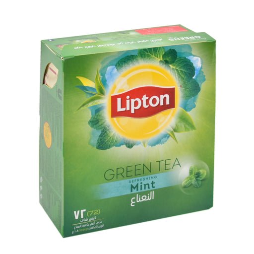 Lipton Clear Green Mint Tea Bag Special Offer 72'S