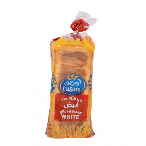 L'Usine White Bread Sliced 600Grm