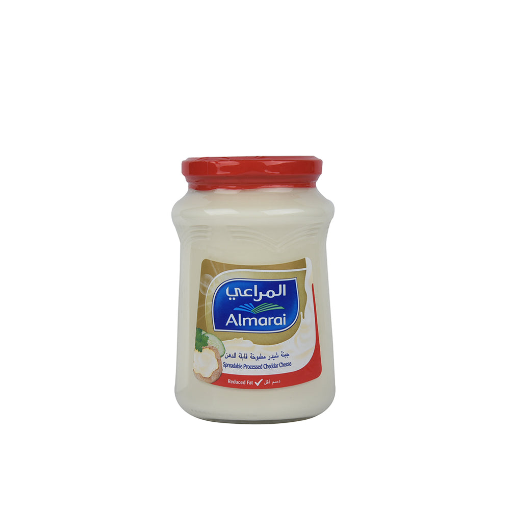 Almarai Spreadable Processed Chedder Cheese Reduced Fat 500gm