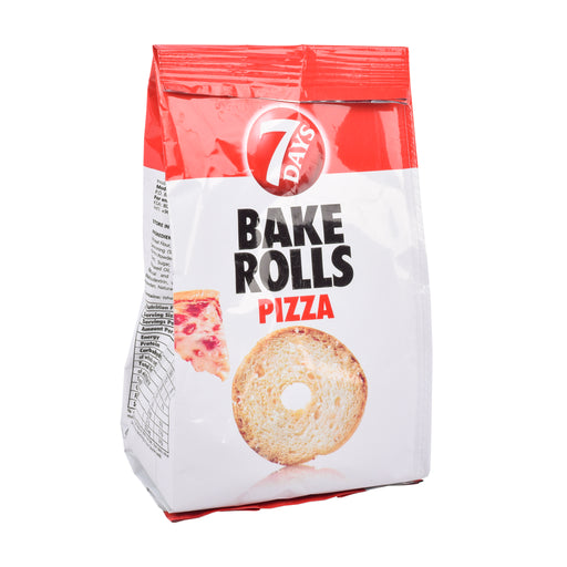7 Days Bake Rolls Pizza Flavour 175Grm