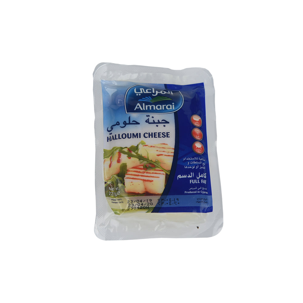 Almarai Halloumi Cheese Full Fat 225Gm