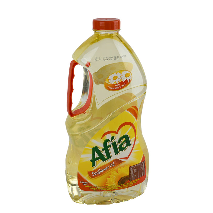 Afia Sunflower Oil 3.5Ltr
