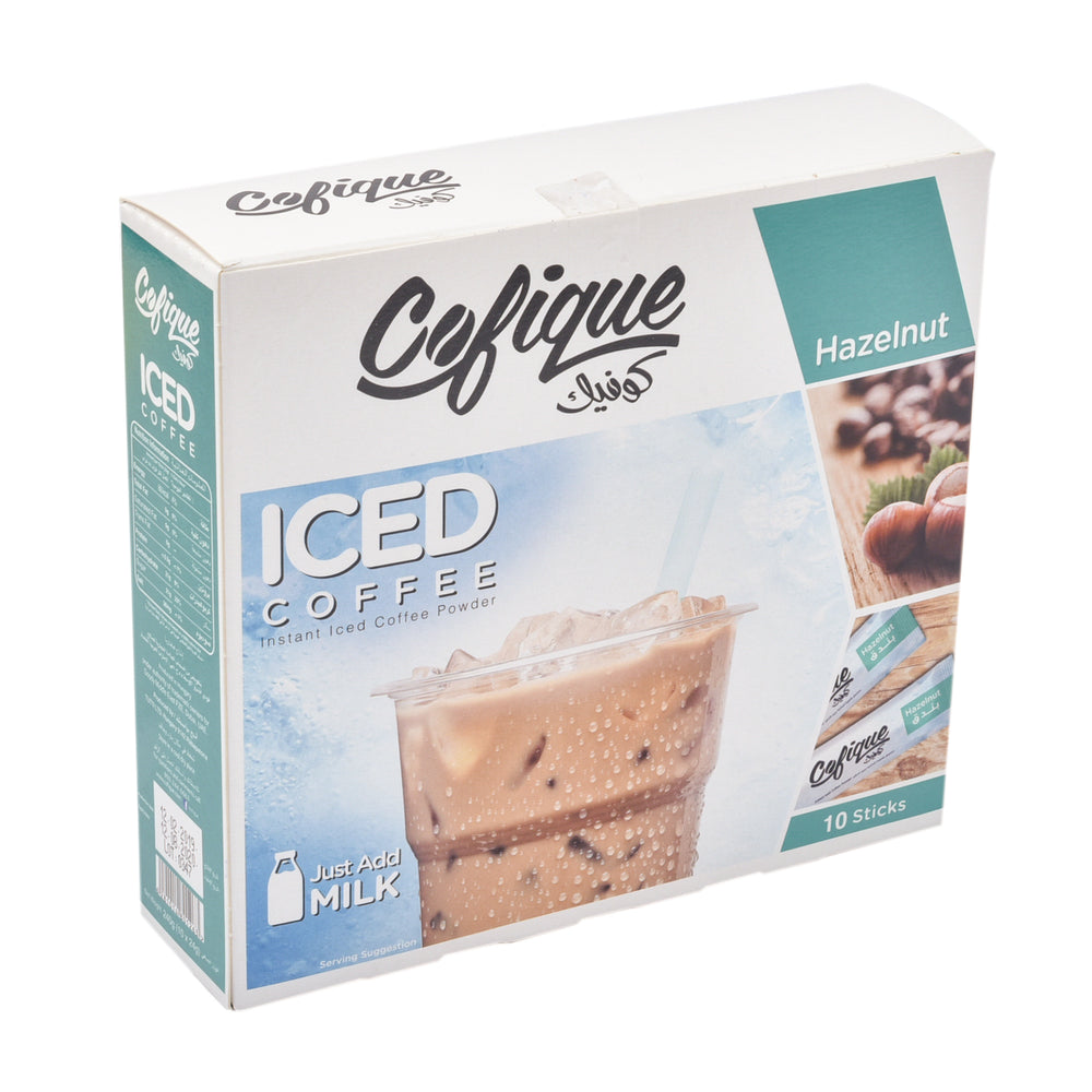 COFIQUE Hazelnut Iced Coffee Powder 24Gm